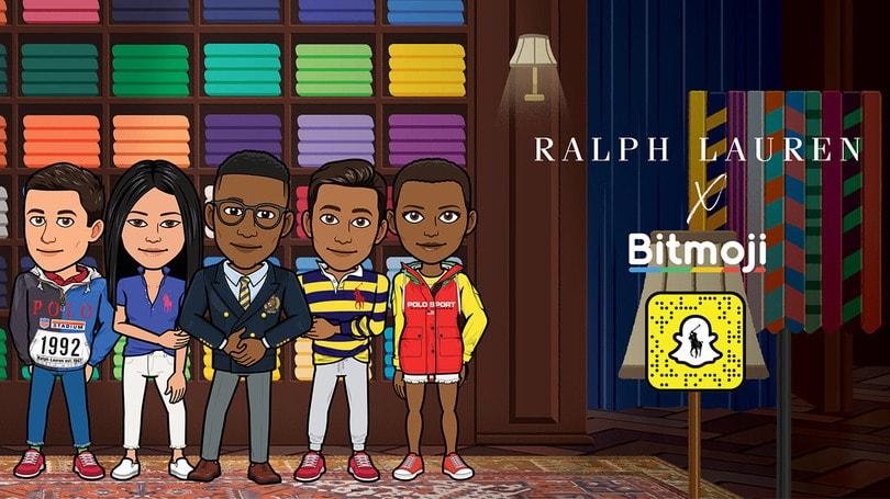 Snapchat y Ralph Lauren - Retail