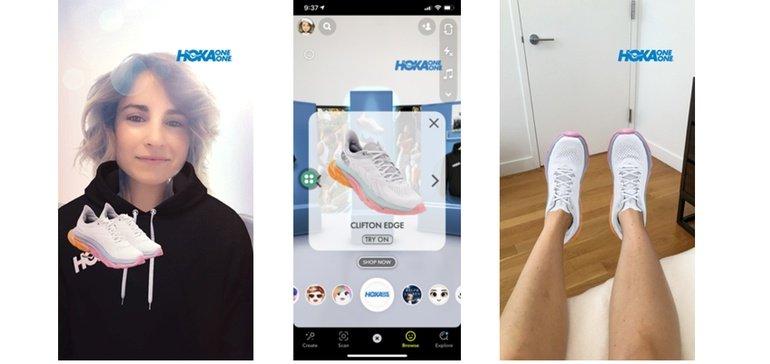snapchat-hoka one one-retail