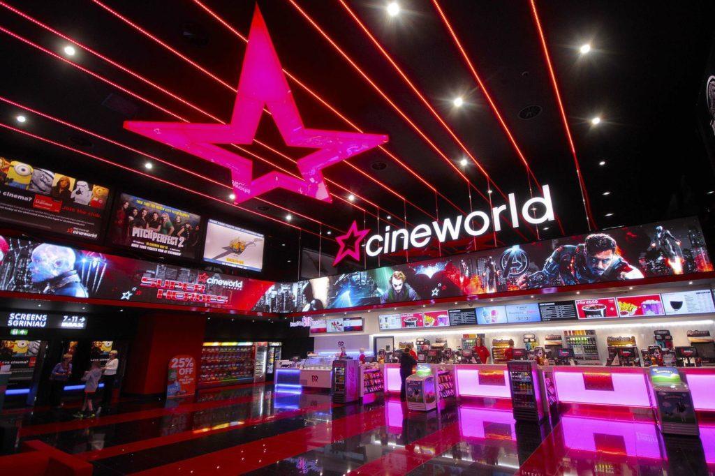 Cineworld Just Retail