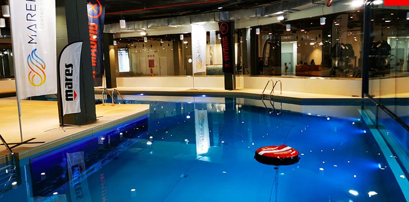 El centro de buceo Marepolis abre en X-Madrid - Just Retail