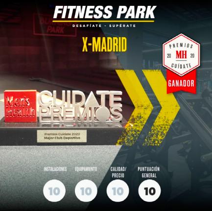Fitness Park X-Madrid gana el premio al mejor gimnasio de España-Just Retail