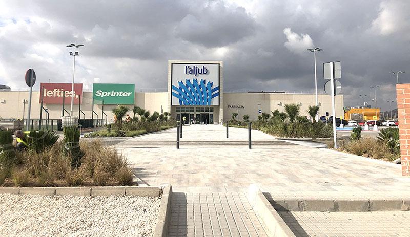 L'Aljub finaliza las mejoras de su acceso principal - Just Retail