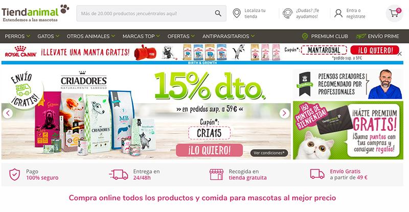 Tiendanimal gana el premio al mejor e-commerce 2020 - Just Retail