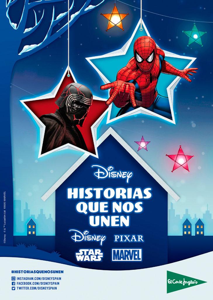 El Corte Inglés y Disney firman un acuerdo de exclusividad en su campaña de Navidad - Just Retail