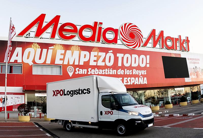 Alianza entre XPO Logistics y MediaMarkt Iberia - Just Retail