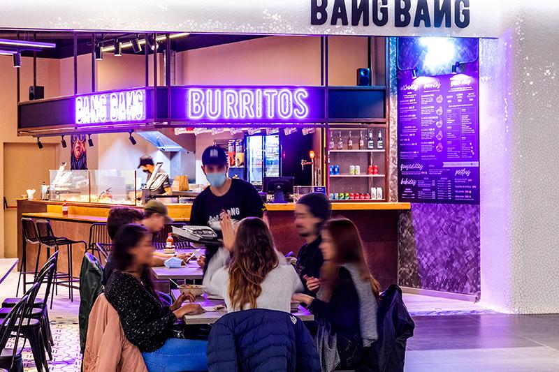 Glòries acoge el primer local de Bang Bang Burritos - Just Retail