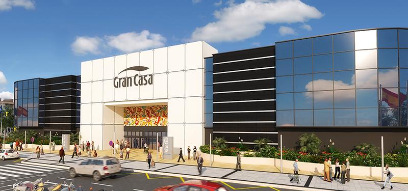 GranCasa comienza las obras de su nueva fachada - Just Retail