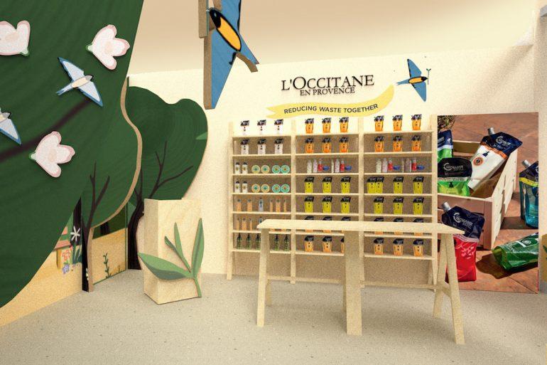 L'Occitane abre su primera tienda #Mega centrada en la sostenibilidad - Just Retail