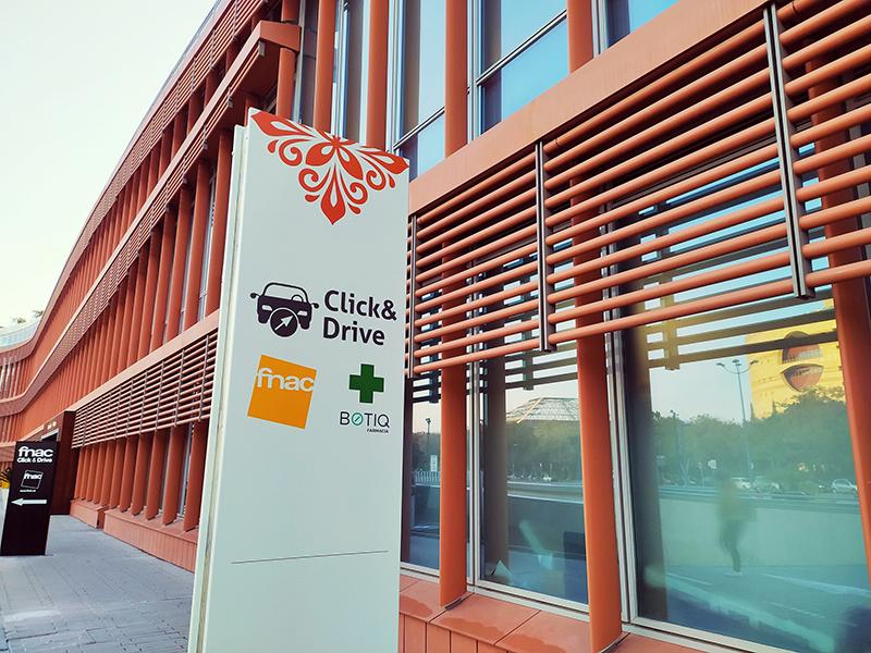 Nuevo servicio 'click & drive' en el centro comercial Torre Sevilla - Just Retail