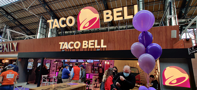 Taco Bell se suma a la oferta de restauración de Príncipe Pío - Just Retail