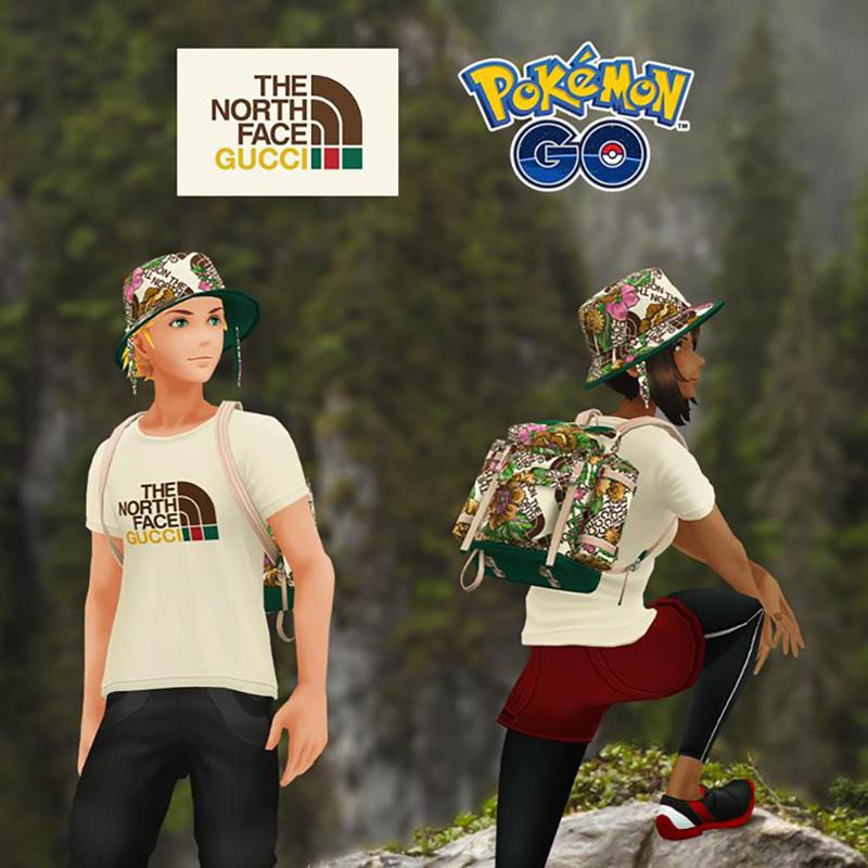 The North Face x Gucci colabora con Pokémon Go 2 - Just Retail