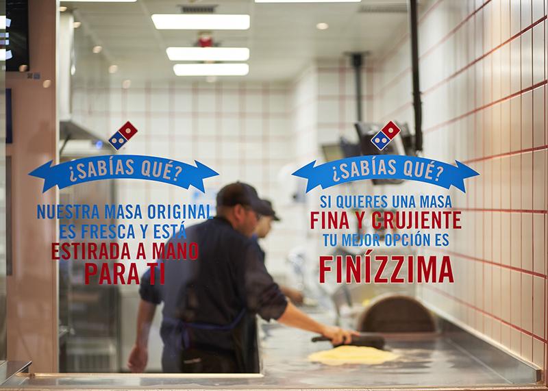 Domino's Pizza nuevo local en Montequinto y donación de la recaudación del primer día - Just Retail