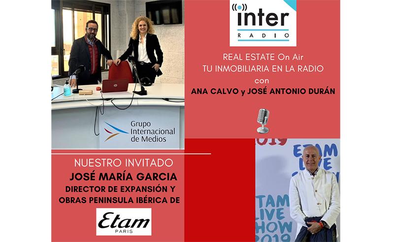 José María García, de Etam, invitado en Real Estate On Air - Just Retail