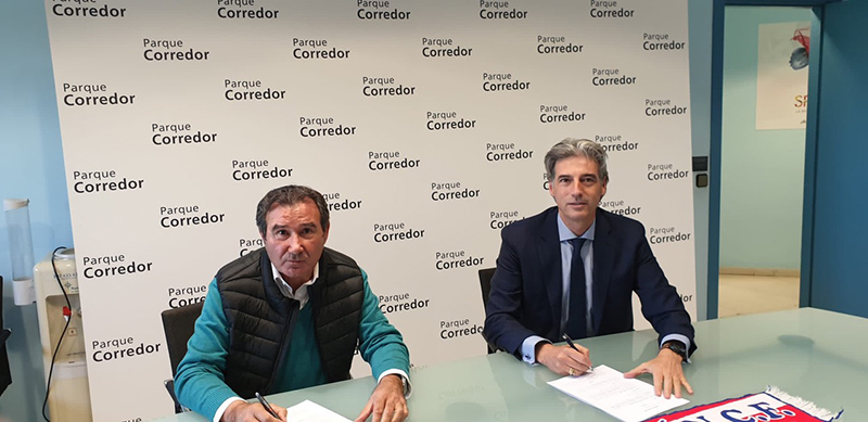 Parque Corredor firma un acuerdo de colaboración con la Agrupación Deportiva Torrejón - Just Retail