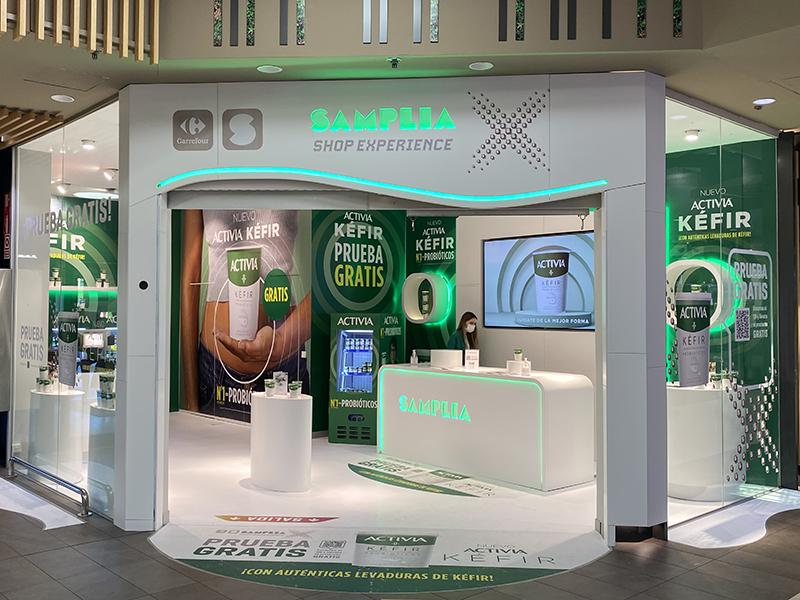 Samplia X abre su primera tienda en España de la mano de Carmila - Just Retail