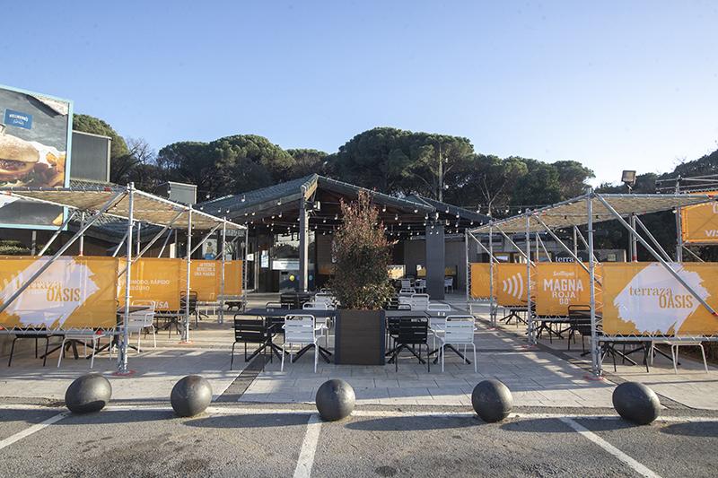 Areas conciertos gratuitos viajeros área servicio Montseny noticias retail