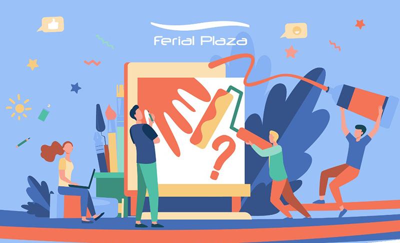 Ferial Plaza organiza Art Challenge, un evento en el que todos pintan - Just Retail