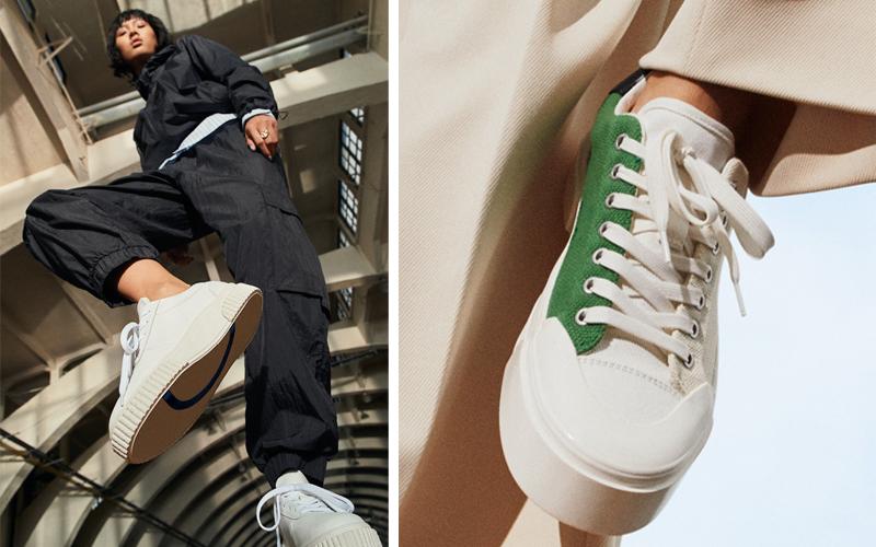 Good News H&M colección zapatillas sostenibles retail news