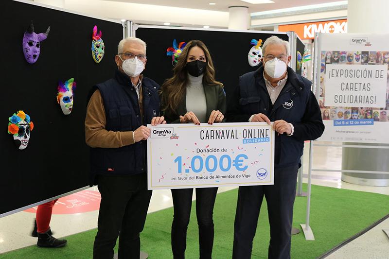 Gran Via de Vigo donación Banco de Alimentos noticias retail
