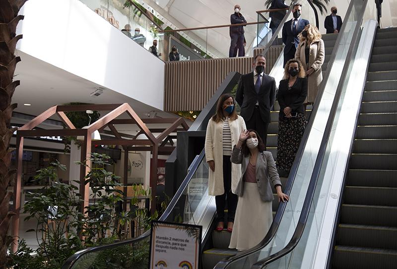 Intu Xanadú restauración presentación Díaz Ayuso noticias retail