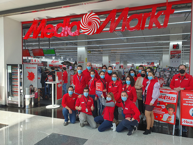 Mediamarkt Iberia certificado Great place to work noticias retail