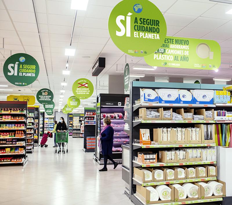 Mercadona sustituye desechables plástico menaje sostenible noticias retail