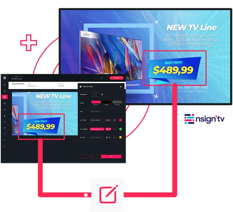 Nsign plataforma noticias retail