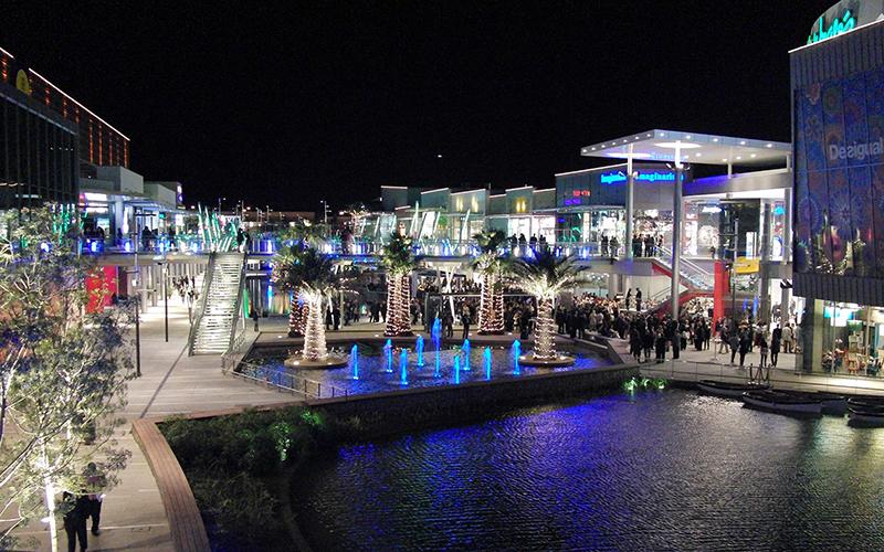 Puerto Venecia proyecto mejora exteriores noticias retail
