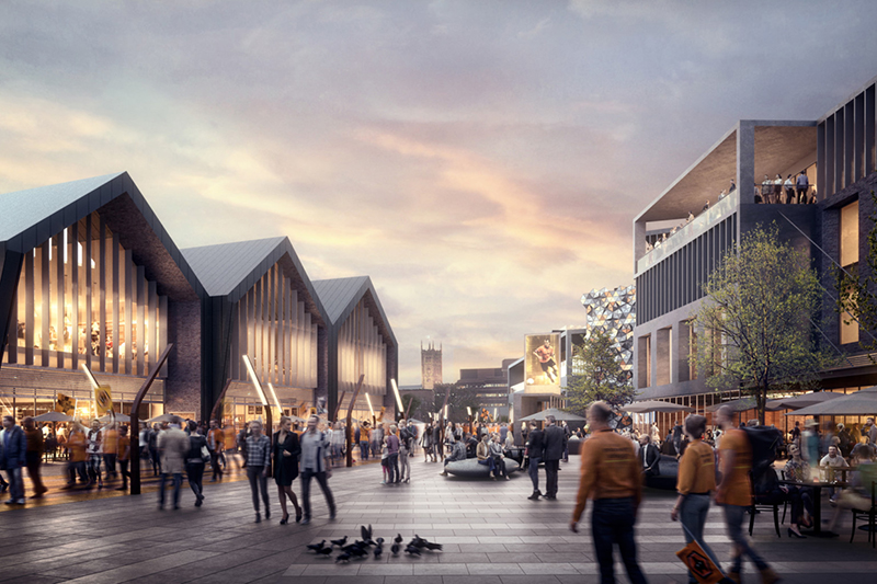 Wolverhampton Regeneration Masterplan - Just Retail