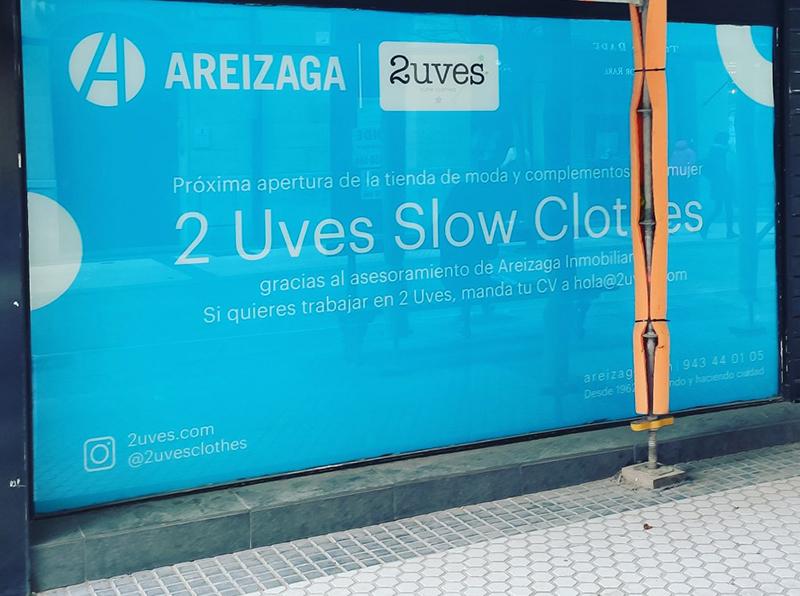 2Uves Slow Clothes abrirá local San Sebastián noticias retail
