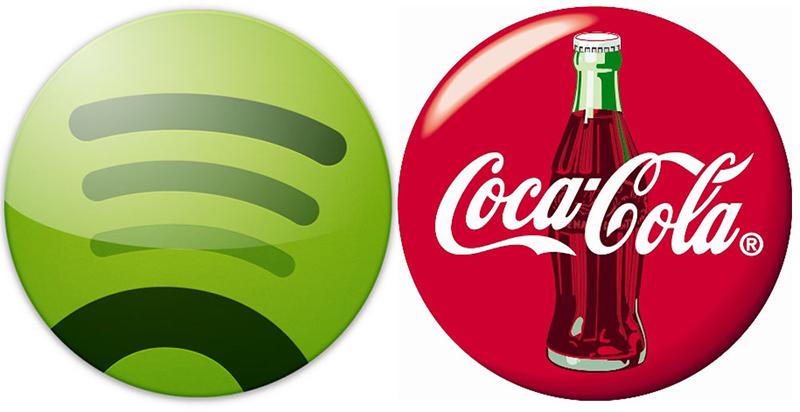 Coca-Cola patrocinará 'playlist' popular Spotify noticias retail