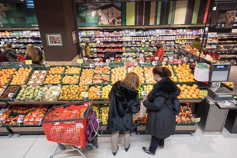 Eroski ventas alimentación cuota mercado noticias retail