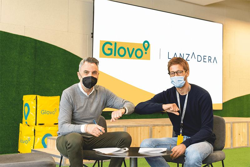 Glovo Lanzadera acuerdo empresas noticias retail