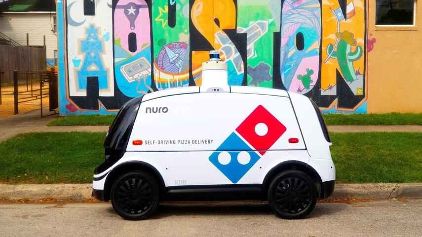 Nuro R2 robot Domino's Pizza entrega domicilio noticias retail 4
