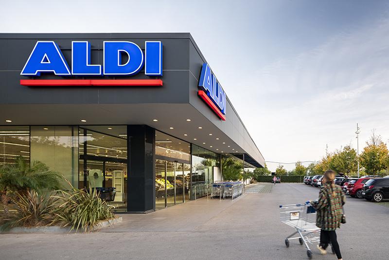Aldi cadena supermercados crecimiento superficie comercial noticias retail