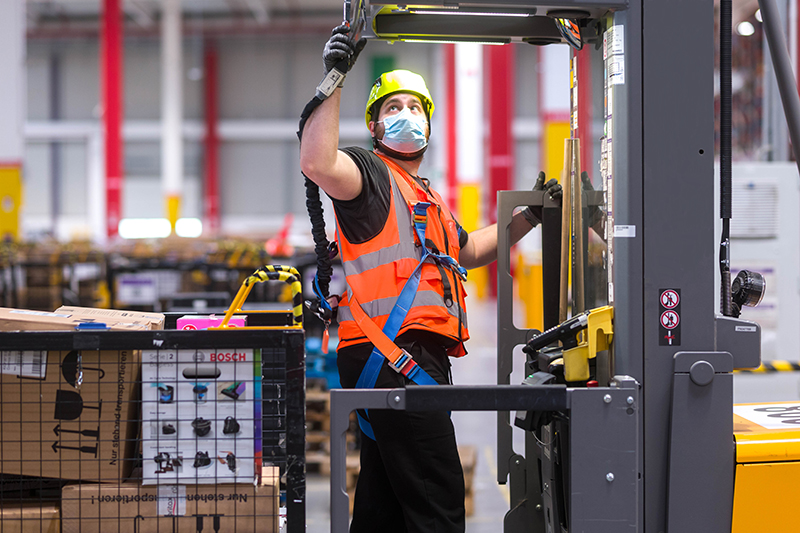 Amazon Centro Europeo de Innovación red Operaciones noticias retail