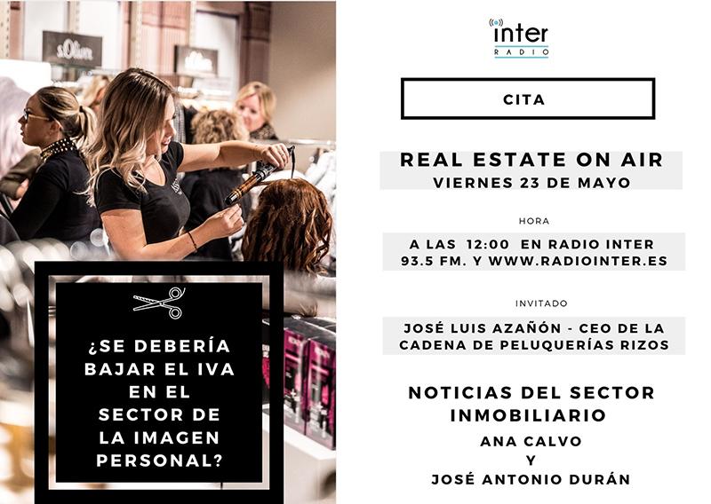 Azañón, Alianza bajada del IVA Real Estate On Air noticias retail