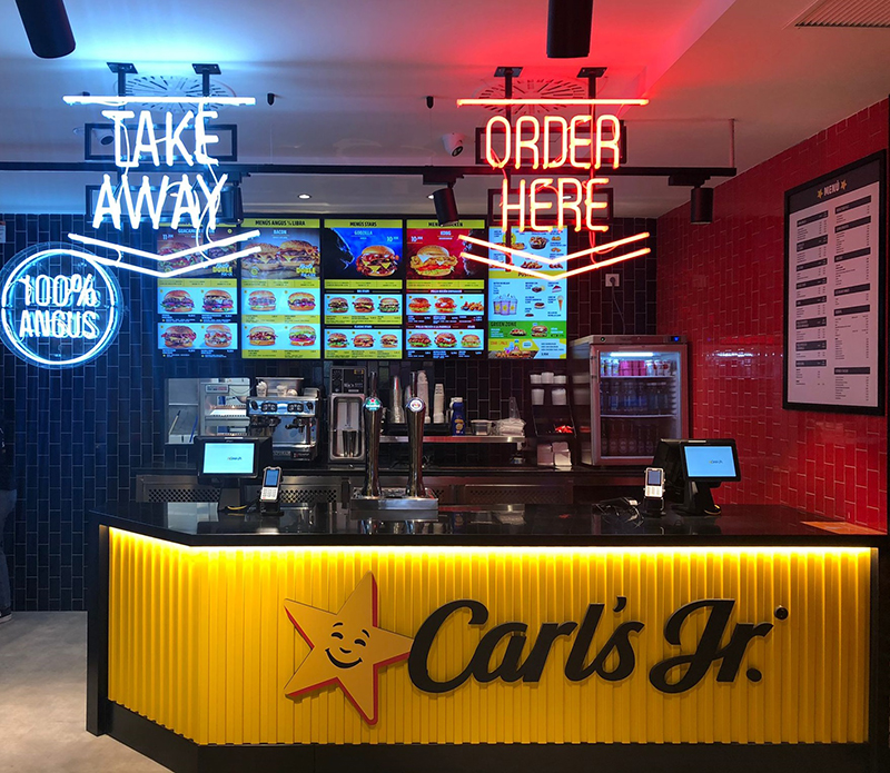 Carl's Jr apertura Zaragoza noticias retail