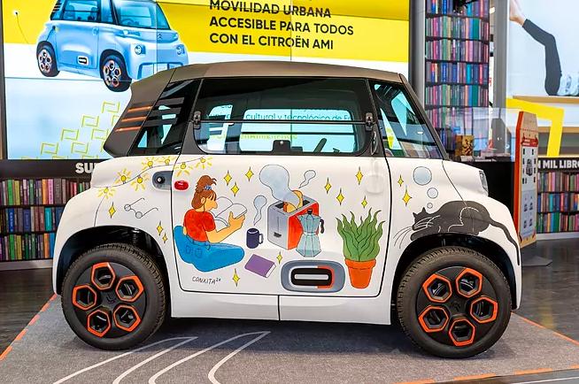 Fnac movilidad sostenible Citroën AMI noticias retail