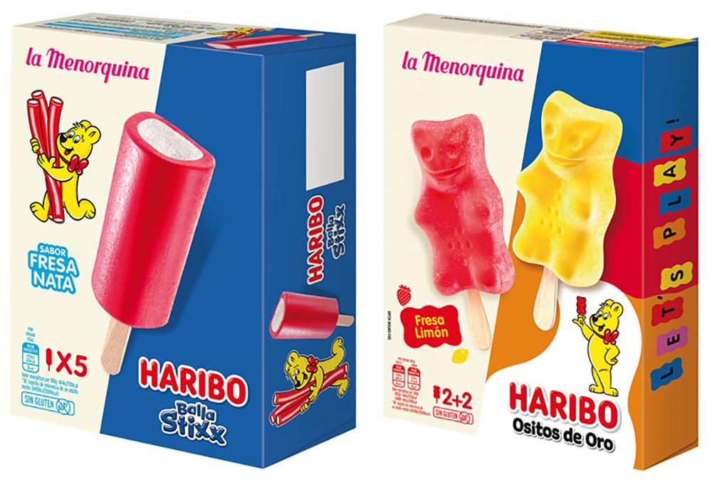 Haribo La Menorquina desarrollo distribución dos nuevos helados noticias retail