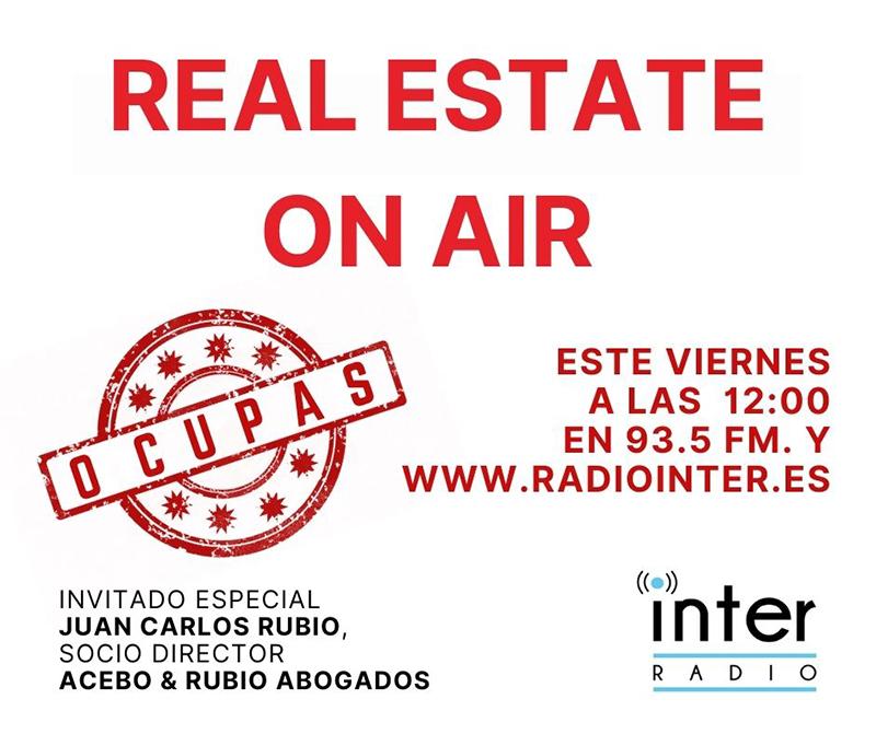 Juan Carlos Rubio Real Estate On Air 'ocupa' noticias retail