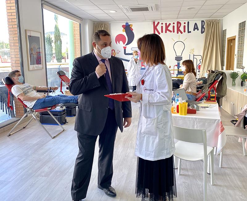 Los Porches del Audiorama donación de sangre noticias retail