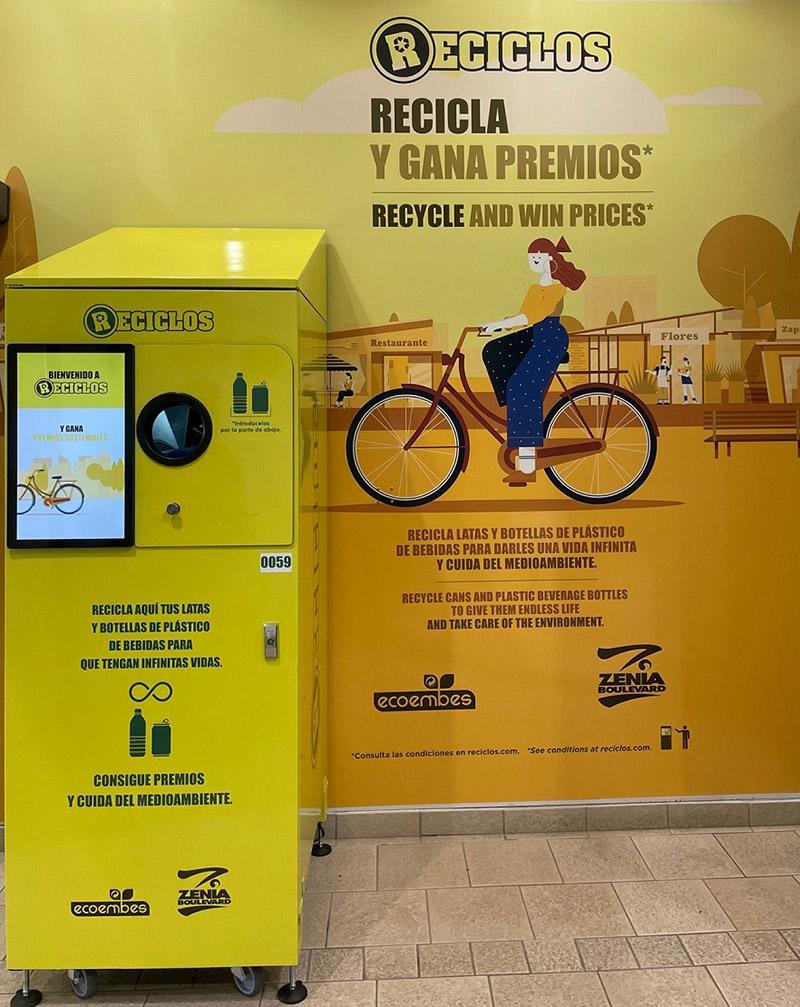 Reciclos Zenia Boulevard reciclaje premios noticias retail