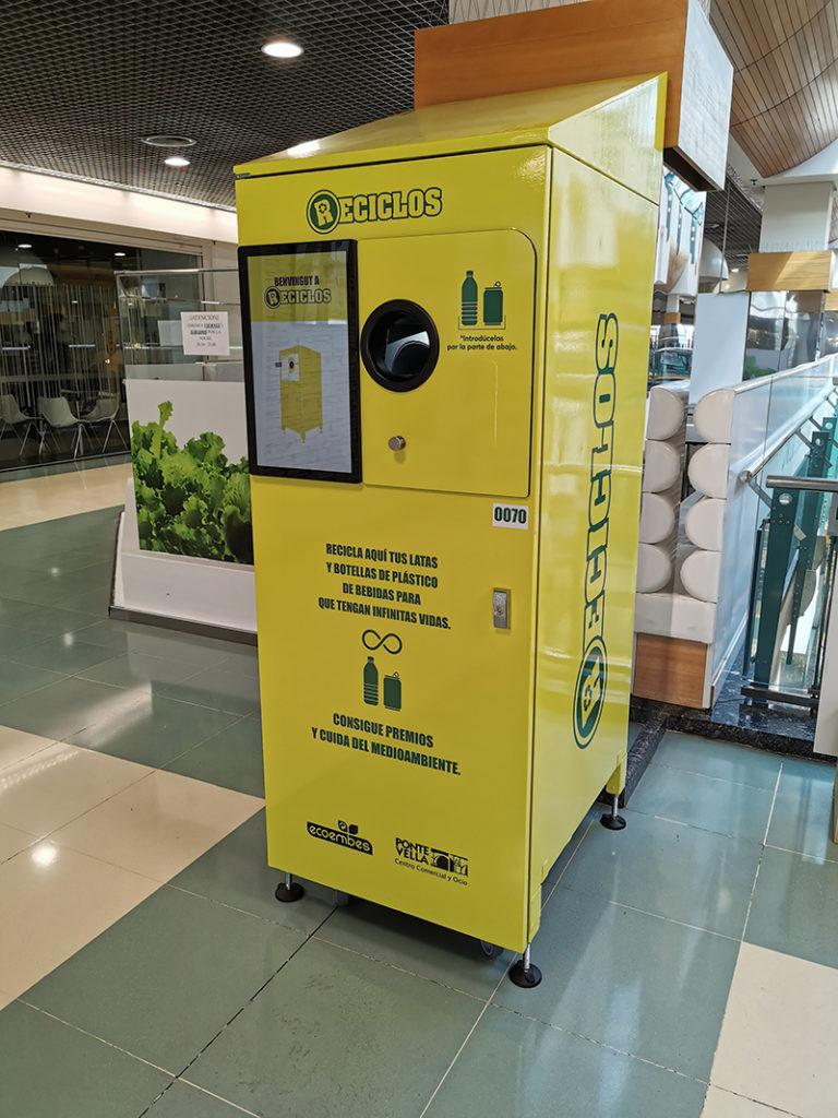 Reciclos reciclar Ponte Vella Ourense noticias retail