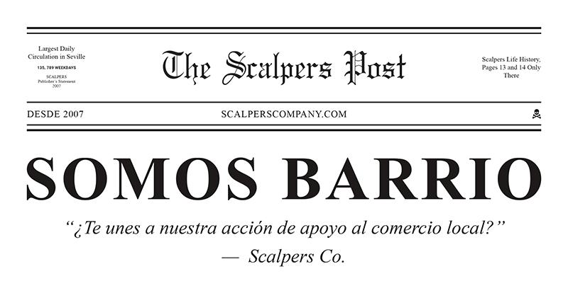Scalpers iniciativa Somos Barrio apoyo comercio local noticias retail