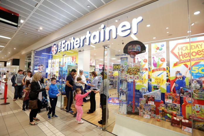 The Entertainer primera tienda España noticias retail