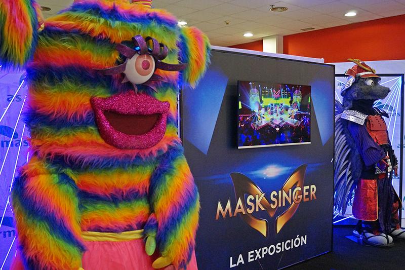 As Termas exposición Mask Singer Gentalia noticias retail