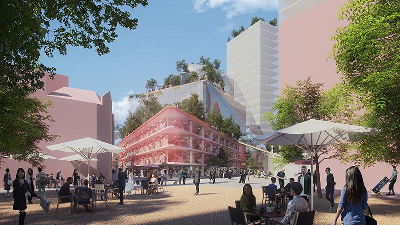 Heuvel centro comercial barrio sostenible noticias retail