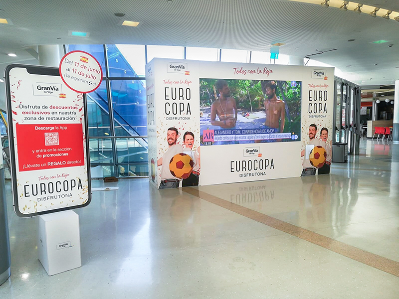 Gran Vía de Vigo Eurocopa actividades premios noticias retail