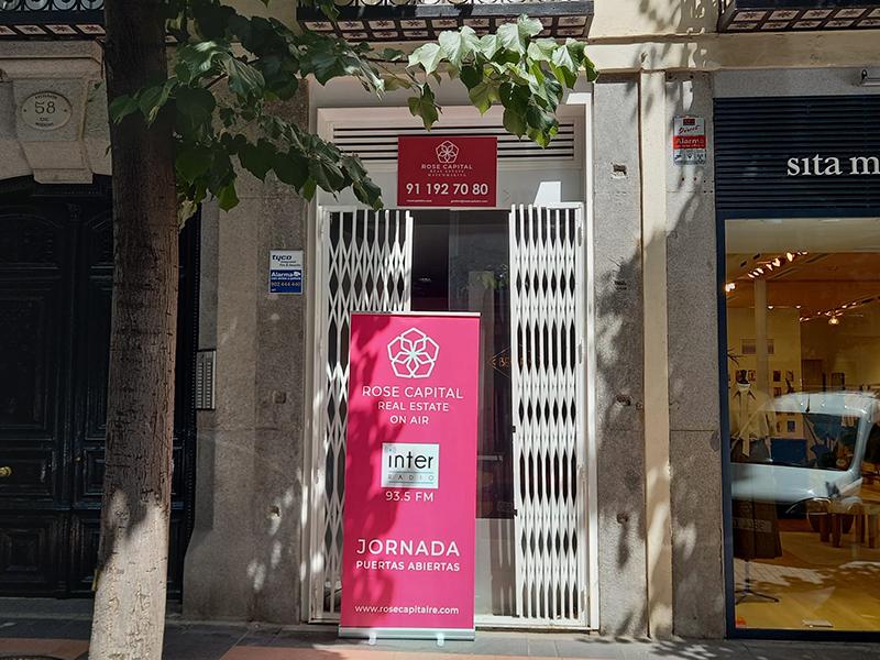 Jornada puertas abiertas Claudio Coello 58 Rose Capital noticias retail